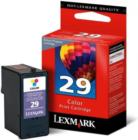 Картридж LEXMARK №29 трехцветный оригинальный