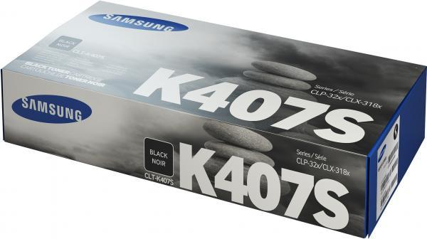Картридж Samsung CLT-K407S черный совместимый
