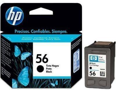 Картридж HP № 56A (C6656AE) чёрный (оригинальный)