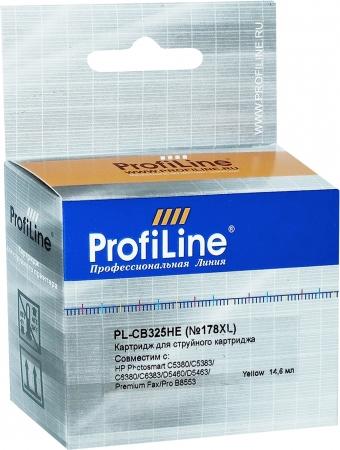 Картридж совместимый ProfiLine CB325HE №178XL для HP желтый