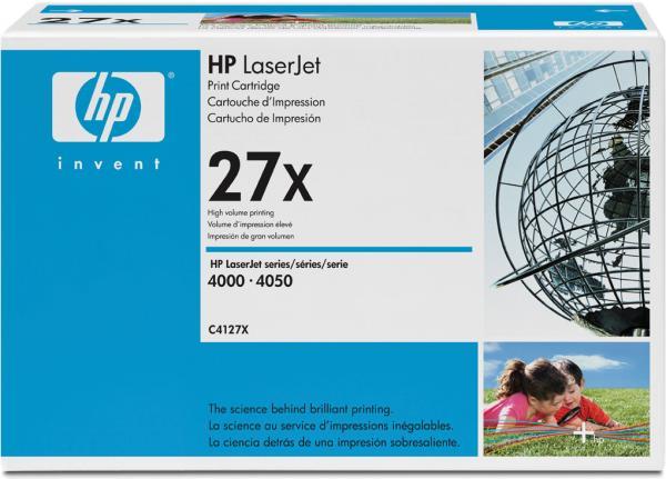 Картридж HP C4127X черный оригинальный