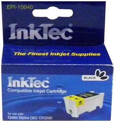 Картридж совместимый InkTec T040 черный для Epson