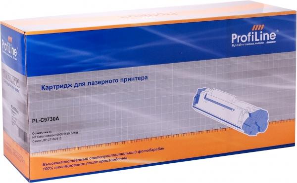 Картридж совместимый ProfiLine C9730A Black для HP