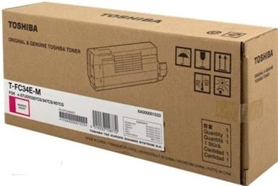 Тонер-картридж Toshiba T-FC34EM (6A000001533) пурпурный оригинальный