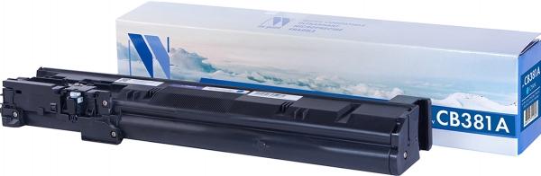 Картридж совместимый NVPrint CB381A для HP голубой