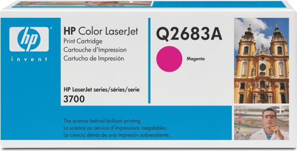 Картридж HP Q2683А пурпурный оригинальный