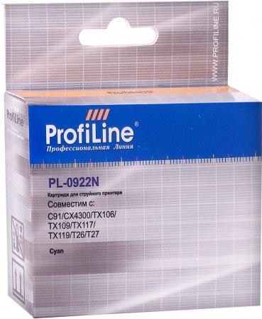 Картридж совместимый ProfiLine 0922N для Epson голубой