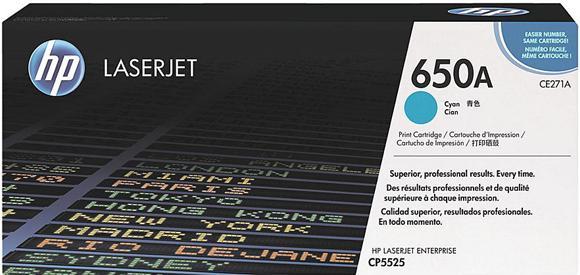 Картридж HP CE271A голубой оригинальный