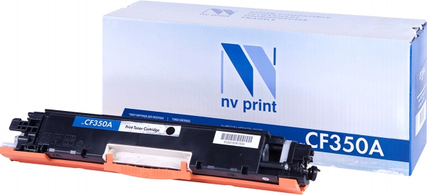 Картридж совместимый NVPrint CF350A для HP черный