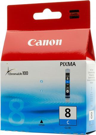 Картридж Canon CLI-8C синий совместимый Unijet