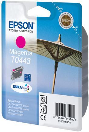 Картридж EPSON T044340 пурпурный совместимый LOMOND