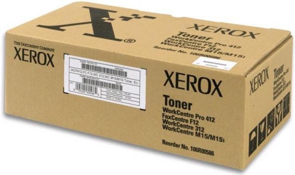 Картридж Xerox 106R00586 оригинальный