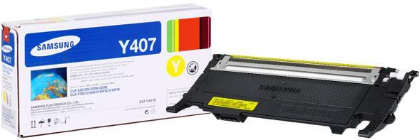 Картридж SAMSUNG CLT-Y407S желтый совместимый OEM