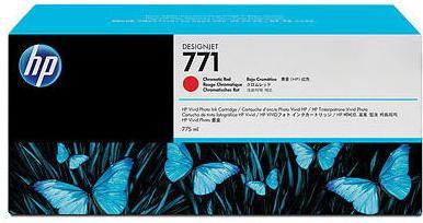 Картридж HP № 771 красный хроматический оригинальный