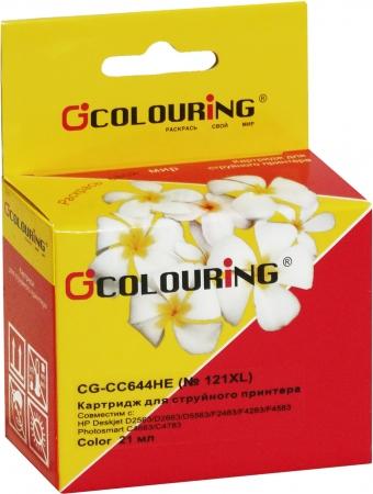 Картридж совместимый Colouring CC644HE №121XL для HP Color