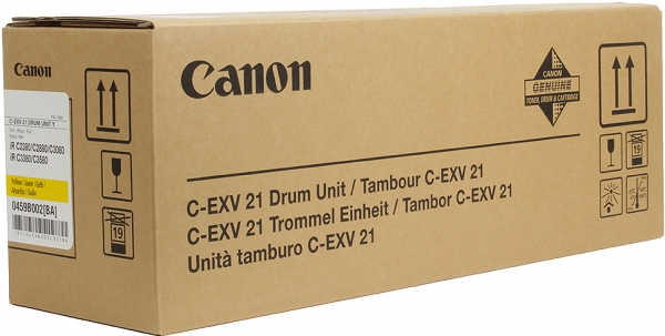 Фотобарабан Canon C-EXV21 желтый оригинальный