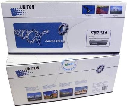 Картридж совместимый UNITON Premium CE742A (307A) желтый для HP