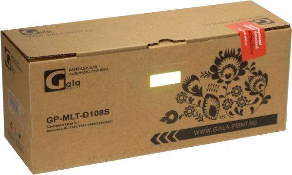 Картридж совместимый GalaPrint MLT-D108S для Samsung с чипом