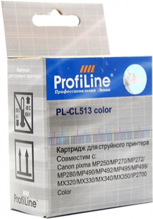 Картридж совместимый ProfiLine CL-513 для Canon Color