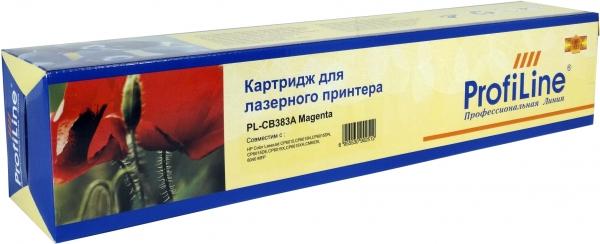 Картридж совместимый ProfiLine CB383А Magenta для HP
