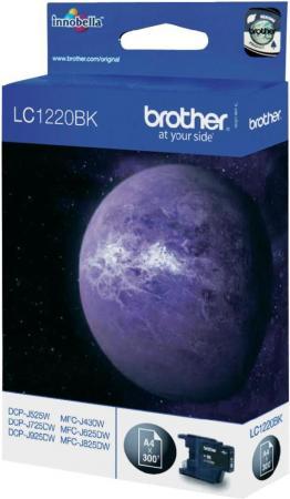 Картридж Brother LC1220BK черный оригинальный