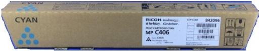 Тонер-картридж MPC406 для Ricoh голубой