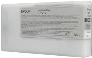 Картридж Epson T6539 (C13T653900) светло-серый оригинальный