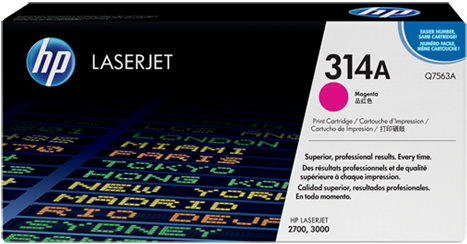 Картридж НP Q7563A пурпурный совместимый NV Print