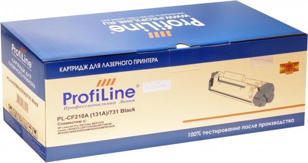 Картридж совместимый ProfiLine CF210A (131A)/731 Black для HP