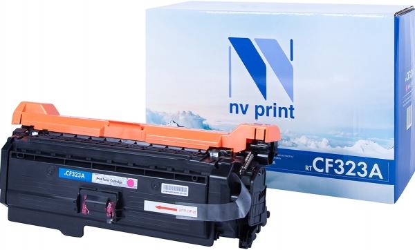 Картридж совместимый NVPrint CF323A для НР пурпурный