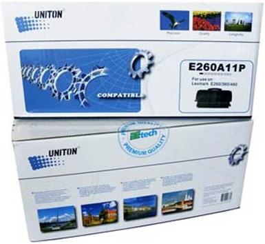 Картридж совместимый для LEXMARK 260A11E/P БЕЗ ЧИПА UNITON Premium