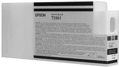 Картридж Epson T5961 (C13T596100) фото черный оригинальный