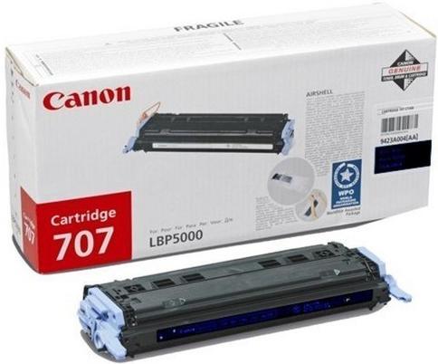 Картридж Canon CRG 707BK черный совместимый NV Print