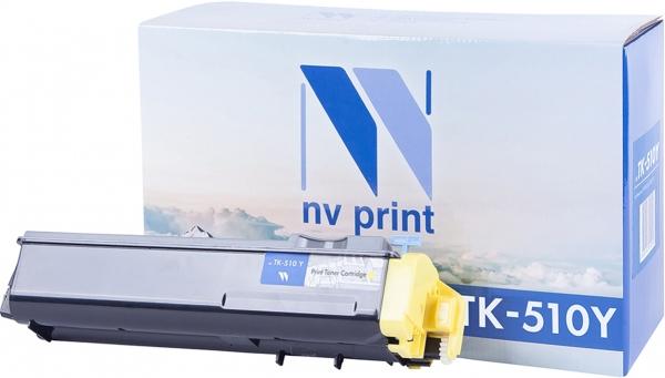 Картридж совместимый NVPrint TK-510 для Kyocera желтый