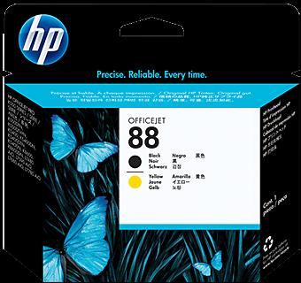 Печатающая головка HP C9381A желтая и черная оригинальная