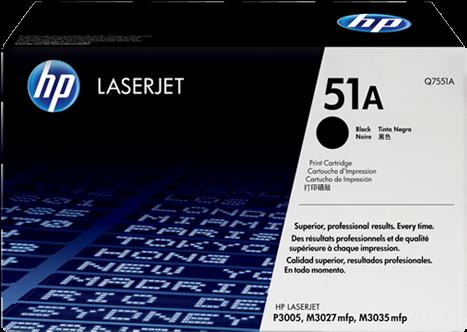 Картридж HP Q7551A оригинальный