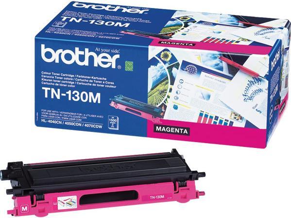 Картридж Brother TN-130M пурпурный оригинальный
