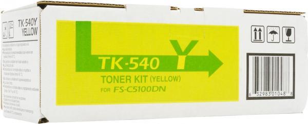 Картридж Kyocera TK-540Y желтый совместимый NV Print