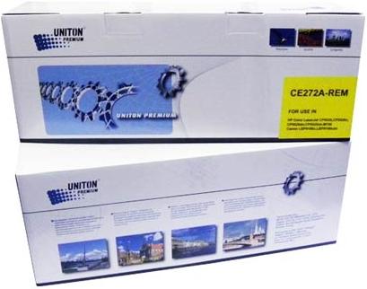 Картридж совместимый UNITON Premium CE272A (650A) желтый для HP