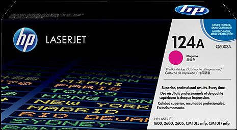 Картридж HP Q6003A пурпурный оригинальный