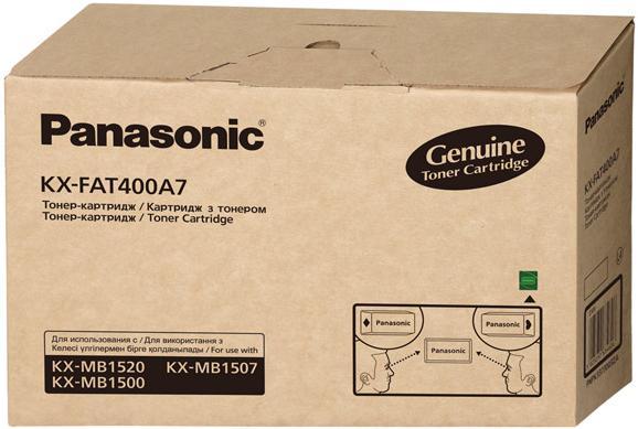 Тонер-картридж PANASONIC KX-FAT400A7 оригинальный
