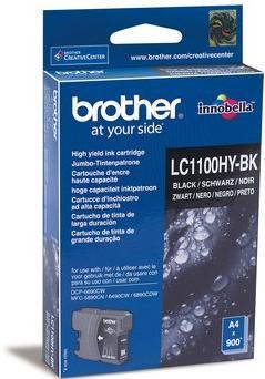 Картридж Brother LC1100_HYBK черный оригинальный