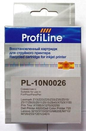 Картридж совместимый ProfiLine 10N0026 для Lexmark Color