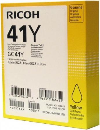Картридж LE GC41Y для Ricoh Aficio желтый