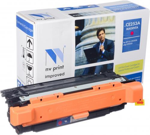 Картридж совместимый NV Print CE253A пурпурный для HP