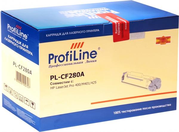 Картридж совместимый ProfiLine CF280A для HP