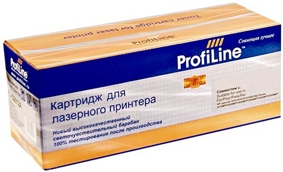 Картридж Samsung CLT-Y508L Yellow ProfiLine (совместимый)