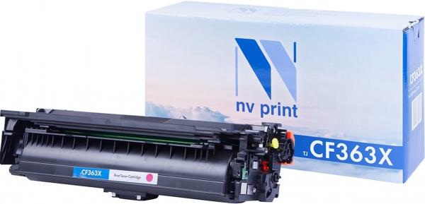 Картридж совместимый NVPrint CF363X для НР пурпурный