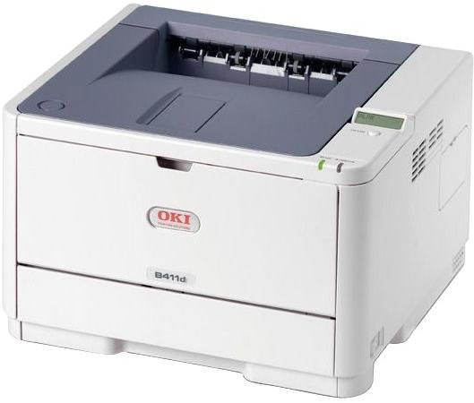 ПринтерOKI B411D