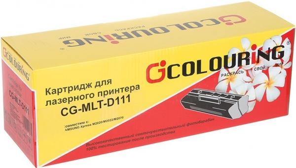 Картридж совместимый Colouring MLT-D111L для Samsung